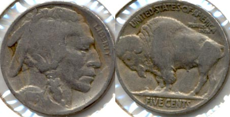 1916 Buffalo Nickel Good-4 i
