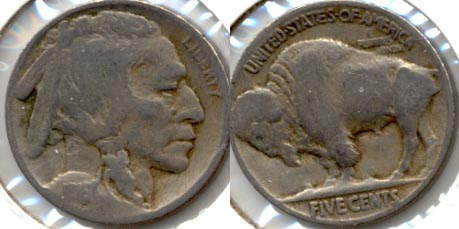 1916 Buffalo Nickel Good-4 j