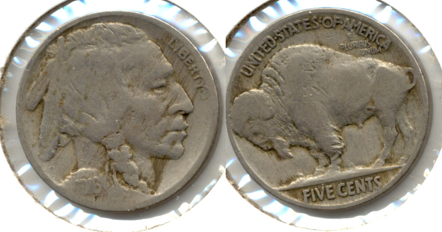 1916 Buffalo Nickel VG-8 p