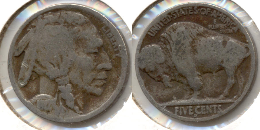 1917-D Buffalo Nickel AG-3 h