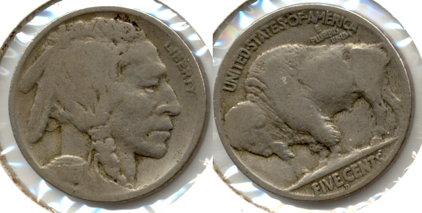 1917-D Buffalo Nickel Good-4