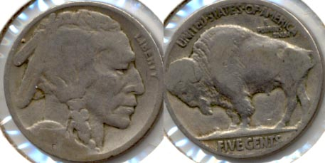 1917 Buffalo Nickel AG-3 d
