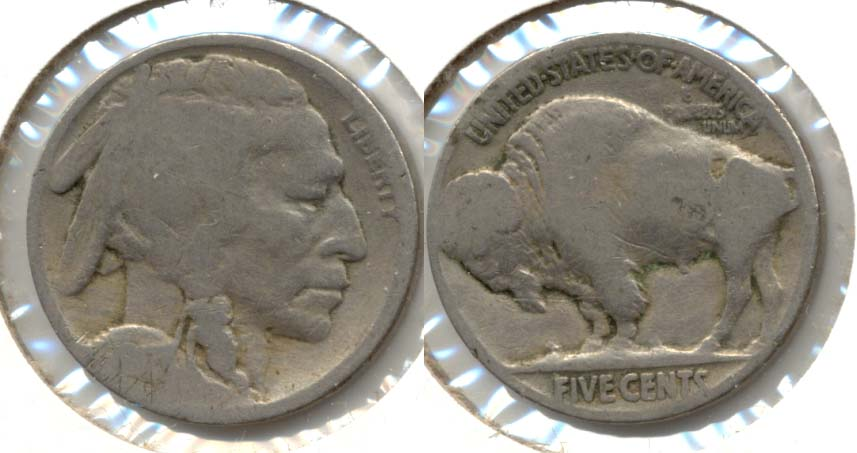 1917 Buffalo Nickel AG-3 j