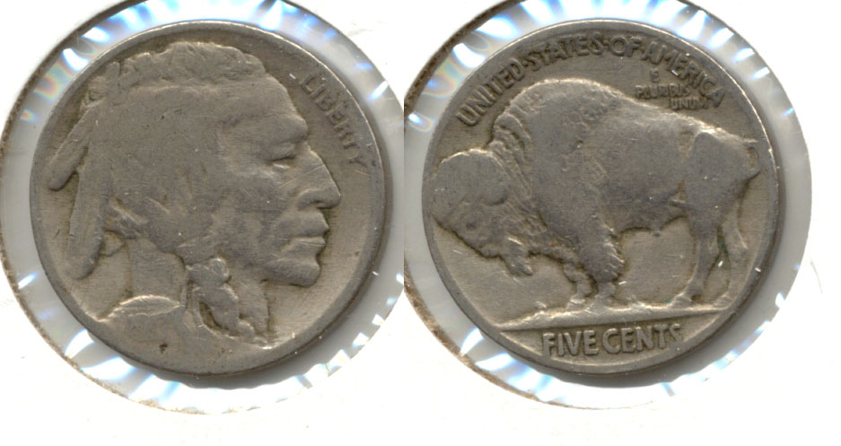 1917 Buffalo Nickel Good-4 aq