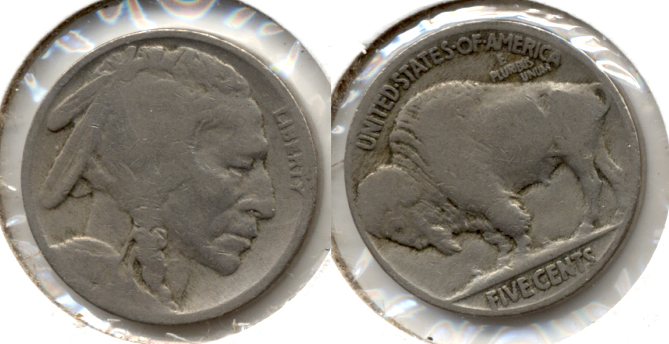 1917 Buffalo Nickel Good-4 at