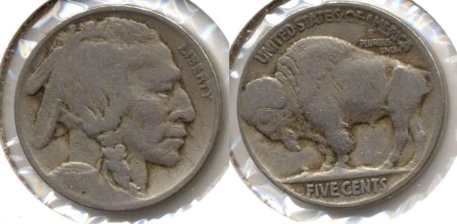 1917 Buffalo Nickel Good-4 aw
