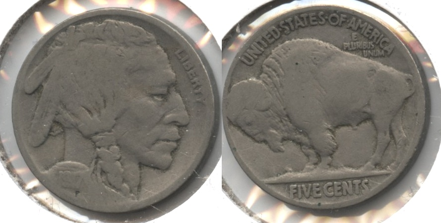1917 Buffalo Nickel Good-4 #ax