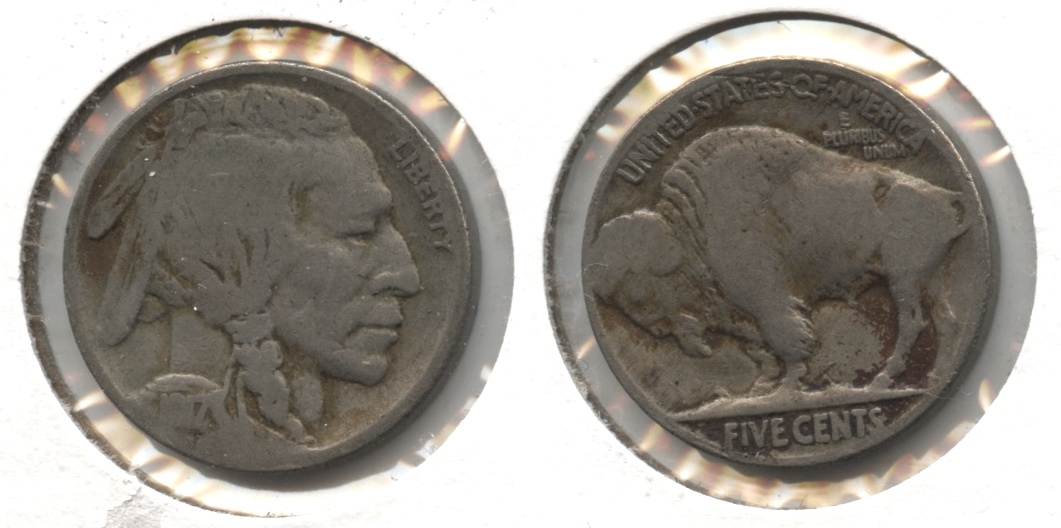 1917 Buffalo Nickel Good-4 #be
