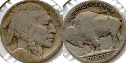 1917 Buffalo Nickel Good-4 d