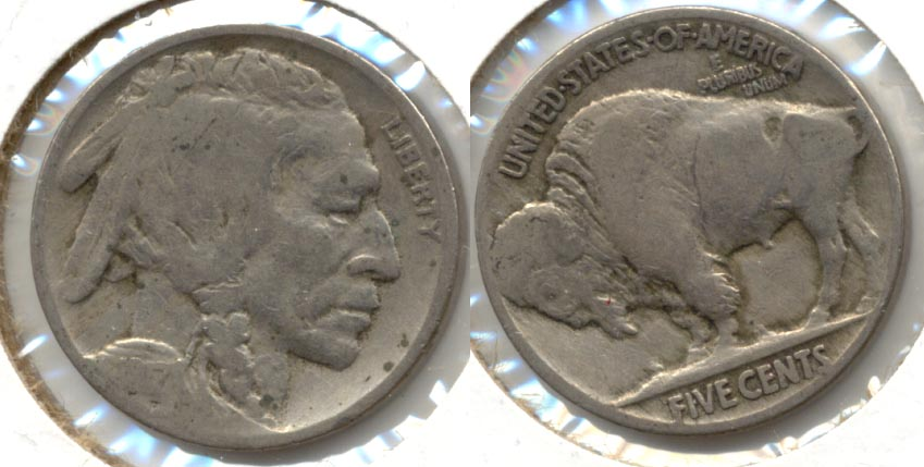 1917 Buffalo Nickel VG-8 j Flyspecks