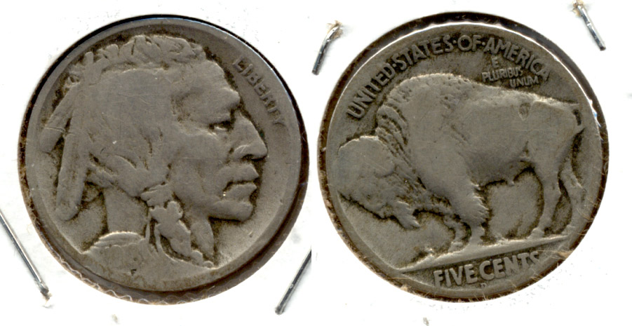 1918-D Buffalo Nickel Good-4 a