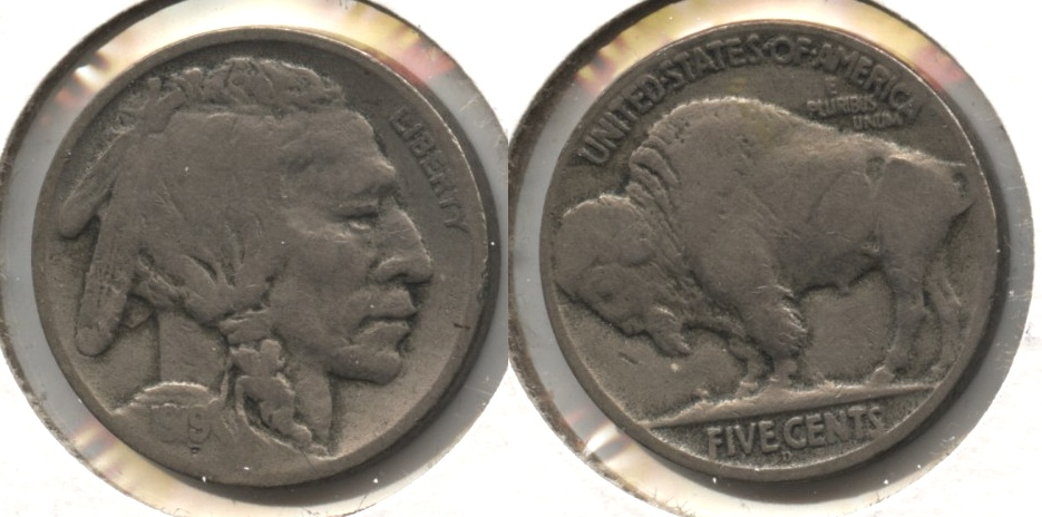 1919-D Buffalo Nickel VG-8 #b