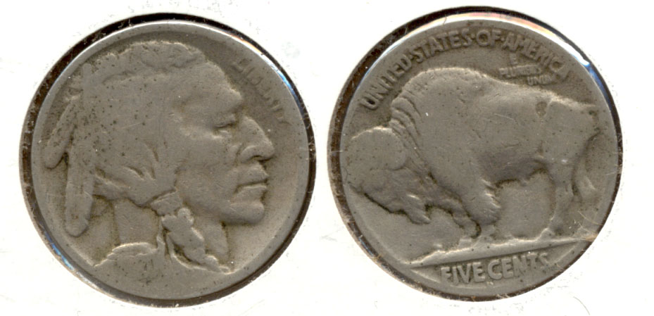 1920-D Buffalo Nickel AG-3 h