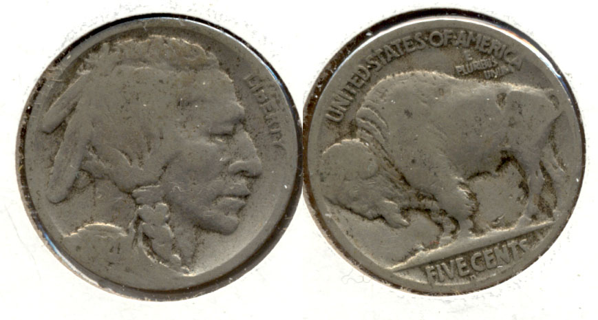 1920-D Buffalo Nickel AG-3 l
