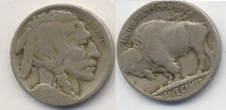 1920-D Buffalo Nickel AG-3 p