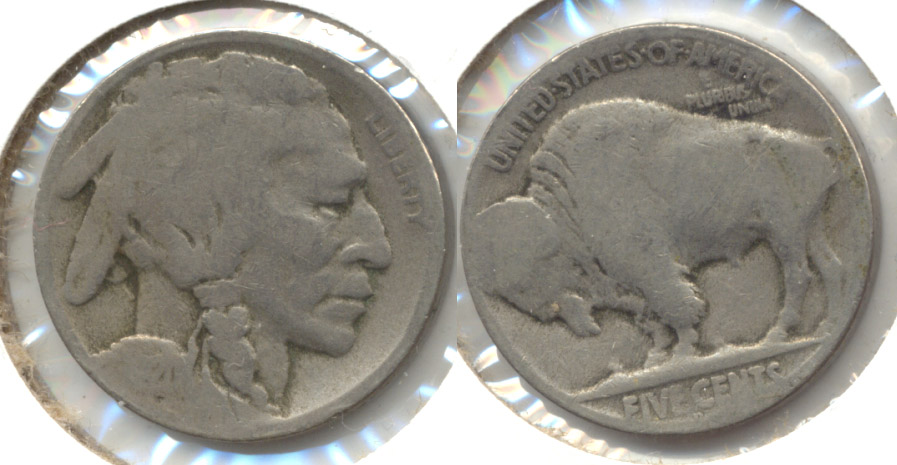 1920-D Buffalo Nickel AG-3 s