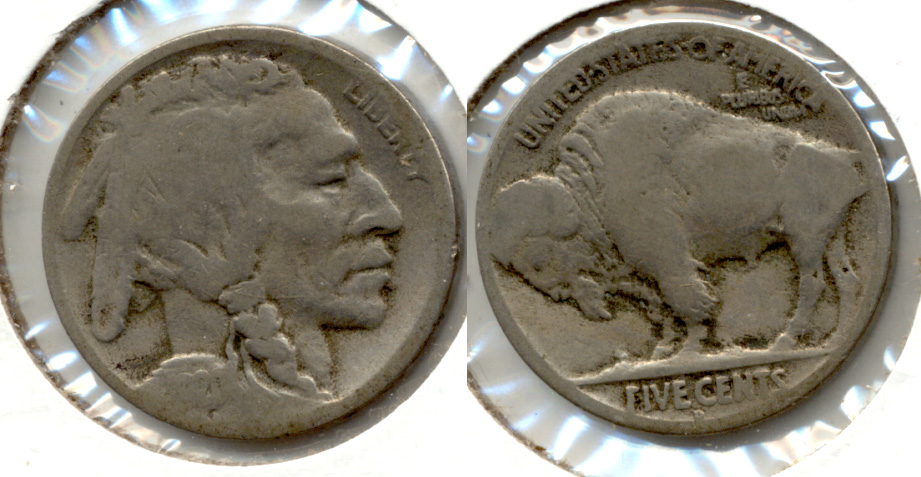1920-D Buffalo Nickel AG-3 v