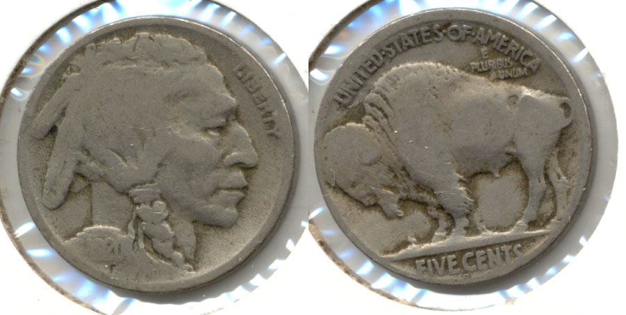 1920-D Buffalo Nickel Good-4 ab