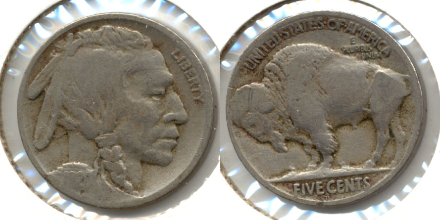 1920-D Buffalo Nickel Good-4 ae