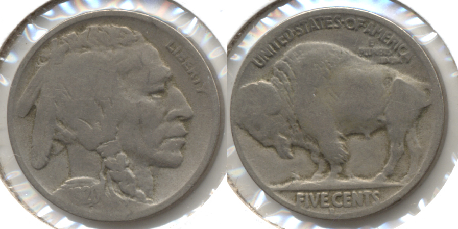 1920-D Buffalo Nickel Good-4 aj