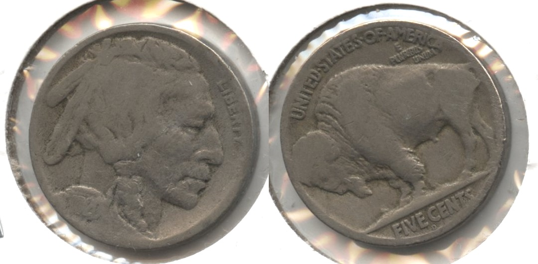 1920-D Buffalo Nickel Good-4 #au