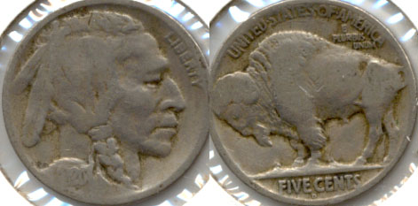 1920-D Buffalo Nickel Good-4 e