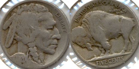 1920-D Buffalo Nickel Good-4 h