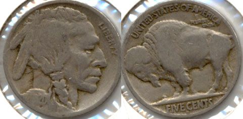 1920-D Buffalo Nickel Good-4 i