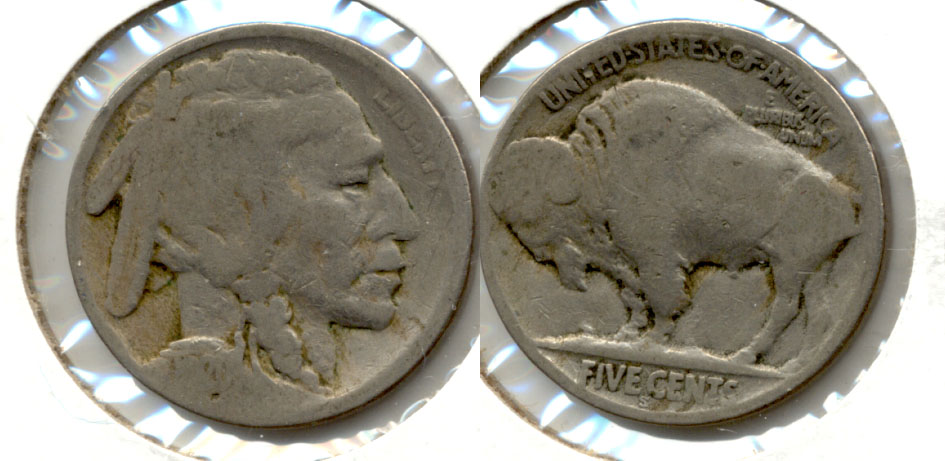 1920-S Buffalo Nickel AG-3 ae