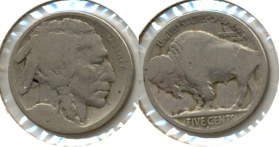 1920-S Buffalo Nickel AG-3 ah