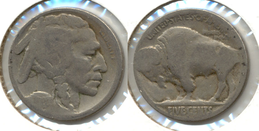 1920-S Buffalo Nickel AG-3 aq