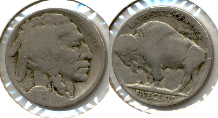 1920-S Buffalo Nickel AG-3 bo