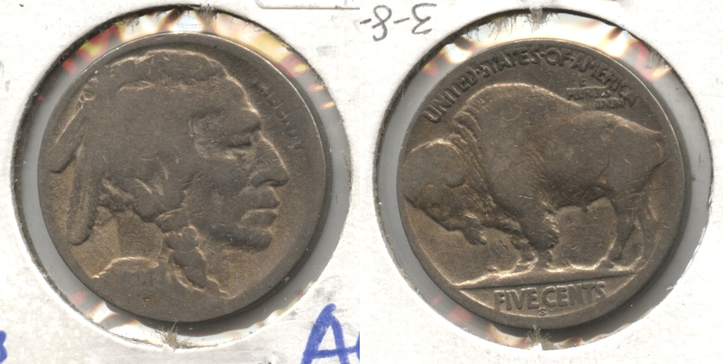 1920-S Buffalo Nickel AG-3 #cc
