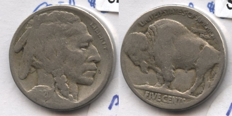 1920-S Buffalo Nickel AG-3 #cd