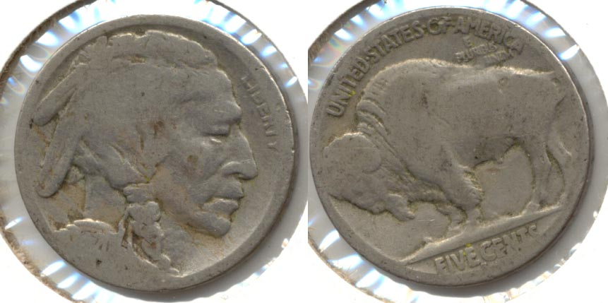 1920-S Buffalo Nickel AG-3 h