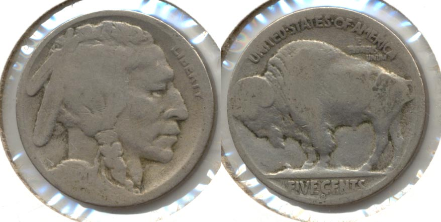 1920-S Buffalo Nickel AG-3 j