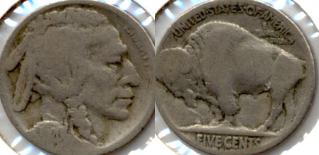 1920-S Buffalo Nickel Good-4 i