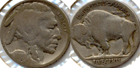 1920-S Buffalo Nickel Good-4 j