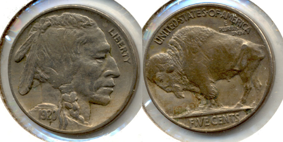 1920 Buffalo Nickel EF-40