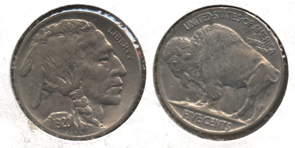 1920 Buffalo Nickel MS-60