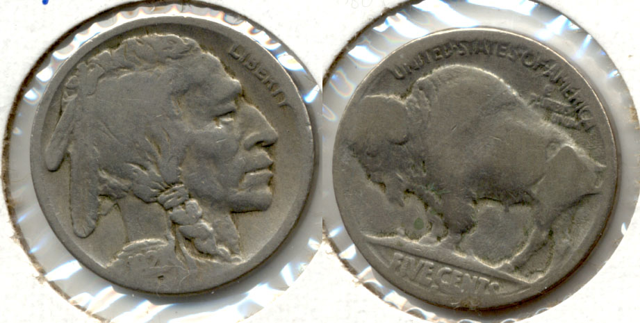 1921-S Buffalo Nickel AG-3