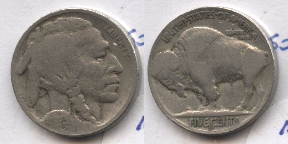 1923-S Buffalo Nickel AG-3 #ak