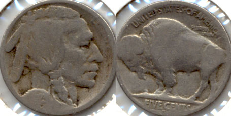 1923-S Buffalo Nickel AG-3 e