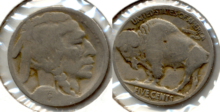 1923-S Buffalo Nickel AG-3 x