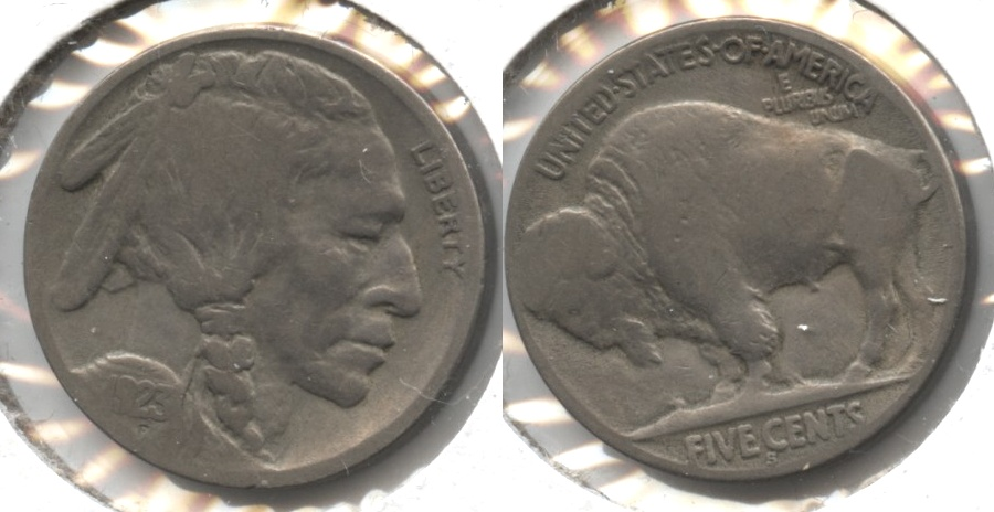 1923-S Buffalo Nickel Good-4 #bw