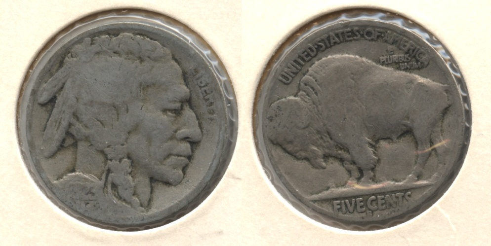 1923-S Buffalo Nickel Good-4 #ca