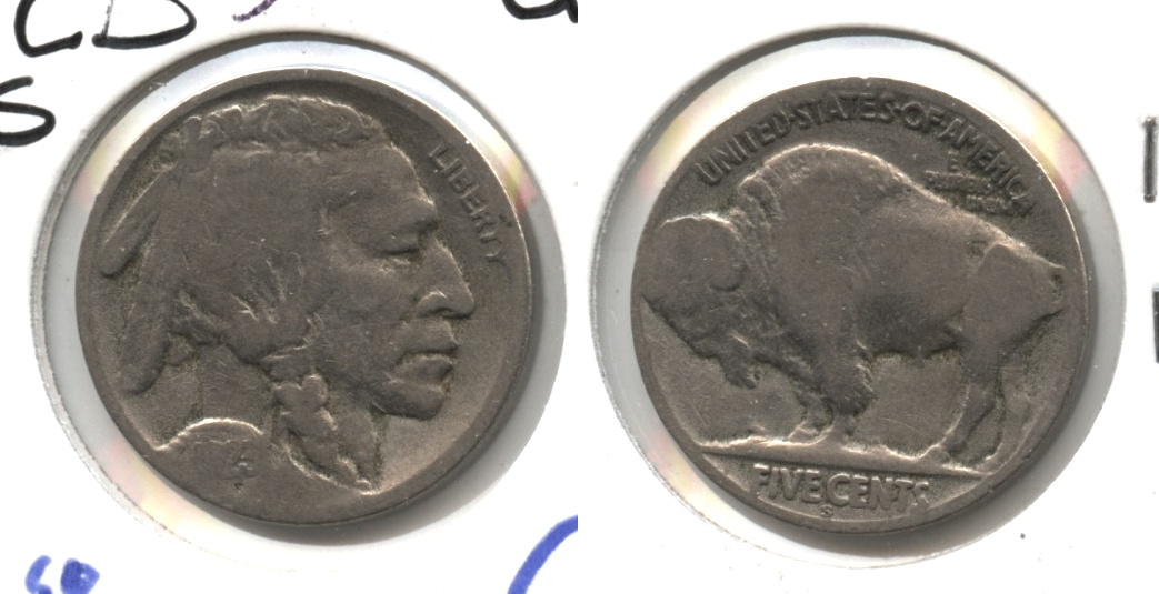 1923-S Buffalo Nickel Good-4 #ck