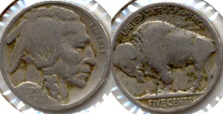 1923-S Buffalo Nickel Good G-4 v