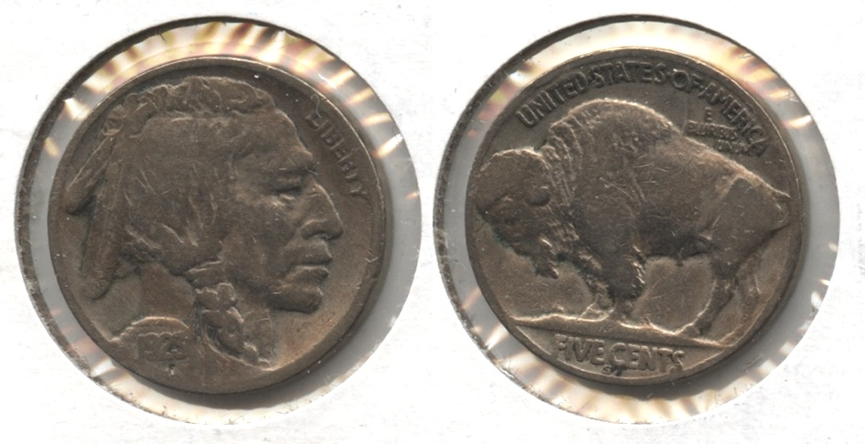 1923-S Buffalo Nickel Good-6