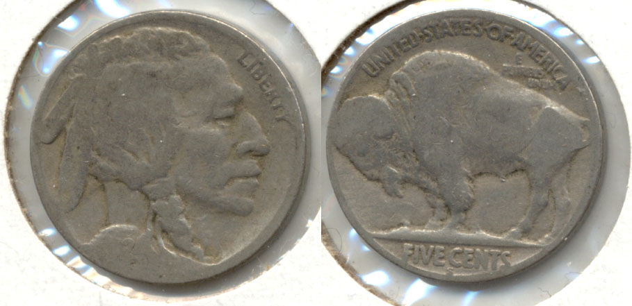 1924-S Buffalo Nickel About Good AG-3 c